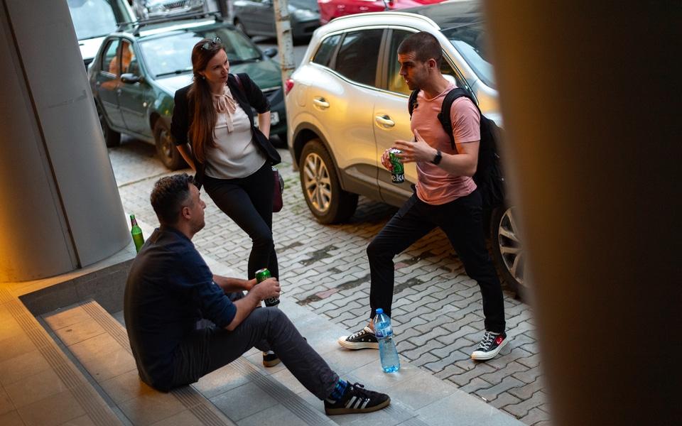 Public Speaking in TechHub, Bucharest