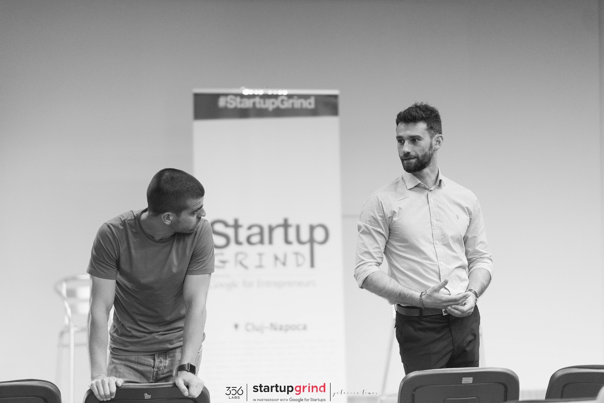 Public Speaking for Startup Grind, Cluj-Napoca