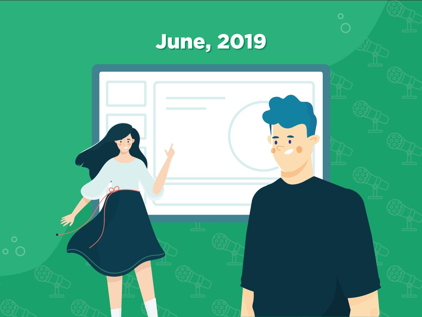 Public Speaking in June 2019