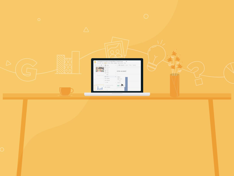 Google Slides Presentation Content Types