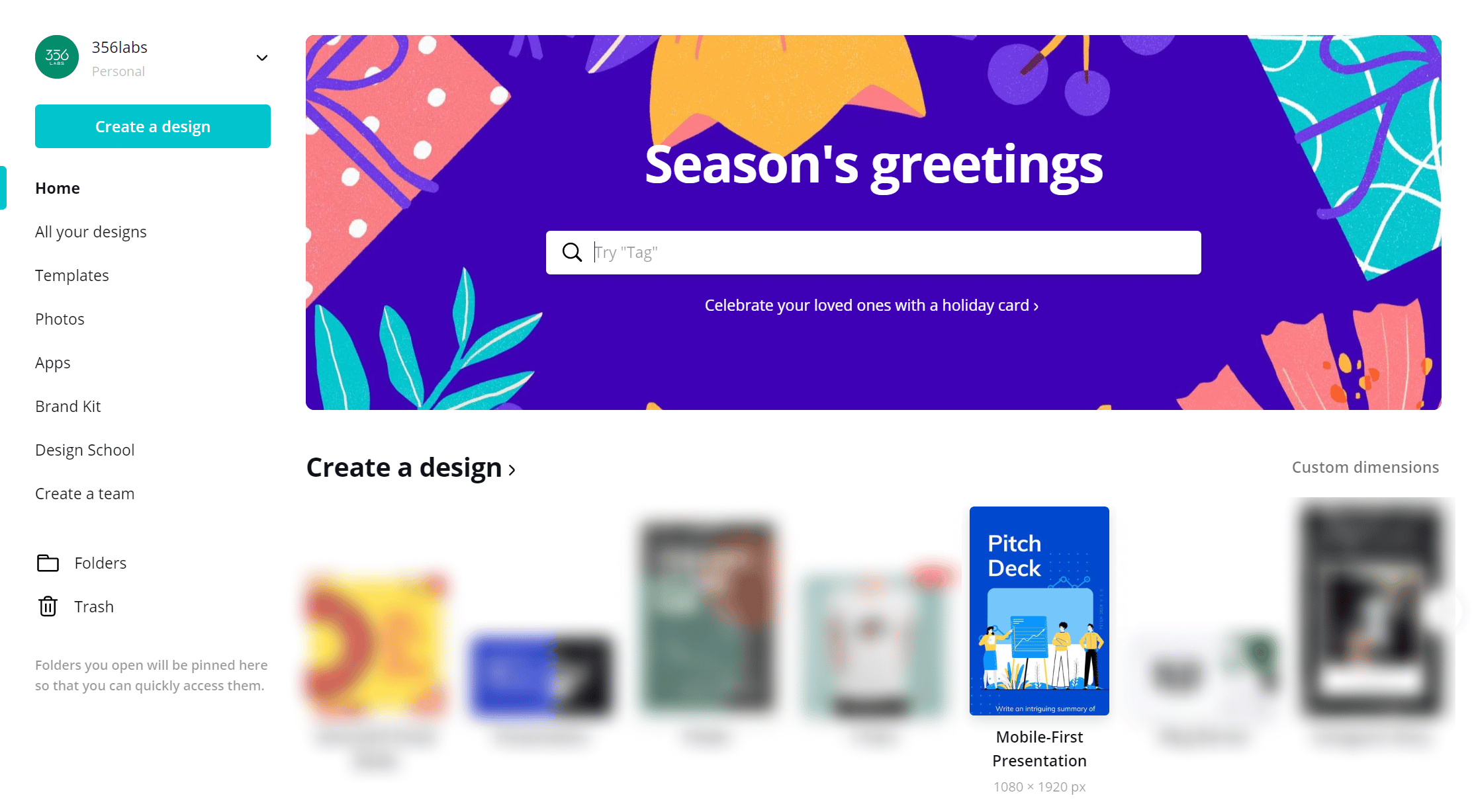 Mobile First Presentations in Canva