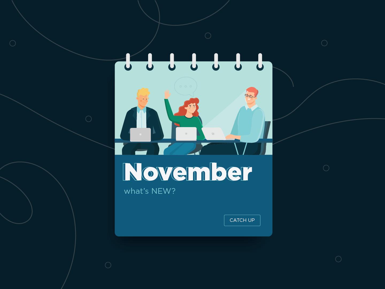 November Overview: Presentation Workshops, Blog Posts, and Webinars