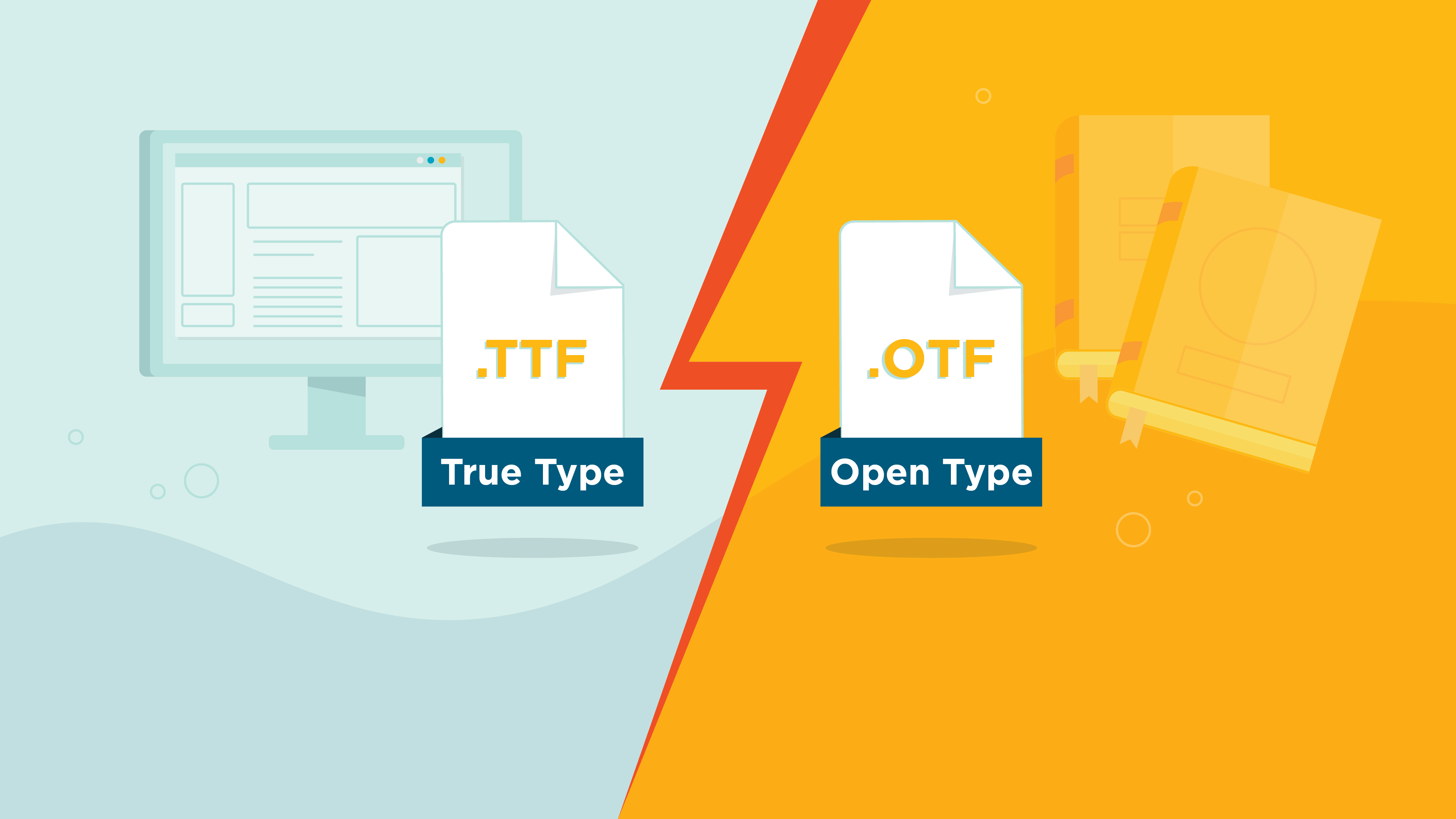 How to Use OTF and TTF